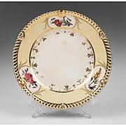 1820 Chamberlain Worcester Dessert Plate, Regent Body