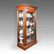 William IV English Curio Cabinet Or Vitrine