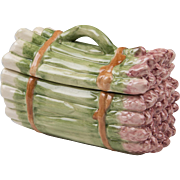 19th C. French Faience Asparagus Tureen