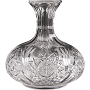 American Brilliant Period Cut Glass Decanter