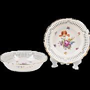 Pair of Schumann & Schreider Porcelain Serving Bowls