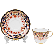 Royal Crown Derby Imari Pattern Cup & Saucer