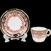Royal Crown Derby Imari Pattern Cup & Saucer
