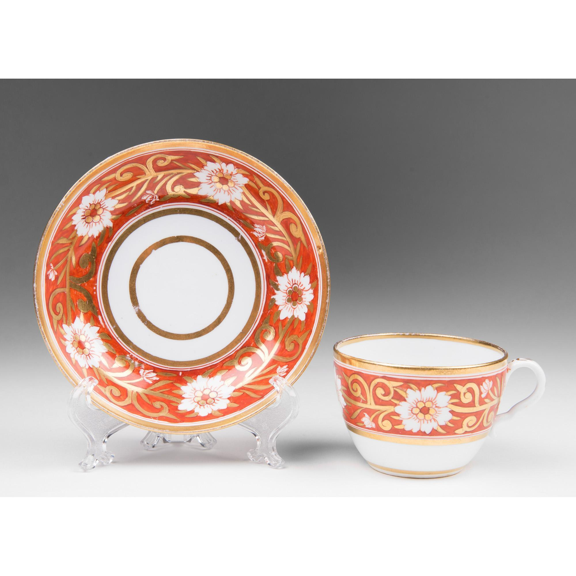 Early 19th C. Derby Cup & Saucer