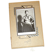 Art Deco Cardboard Picture Frame