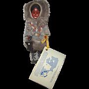'88 Inuit - Eskimo Doll w/Real Fur: Mint in Box