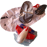 Turkish Airlines Plastic Airplane & Inflatable Plane: First Class Gifts