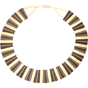 Enticing Egyptian-Revival Style Collar Necklace