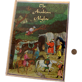 "'79 HB Ed. ""Arabian Nights"": Junior Library: 1946 Earle Goodenow Illustrations"