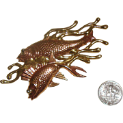 Big Fishes (in a small pond) Brooch