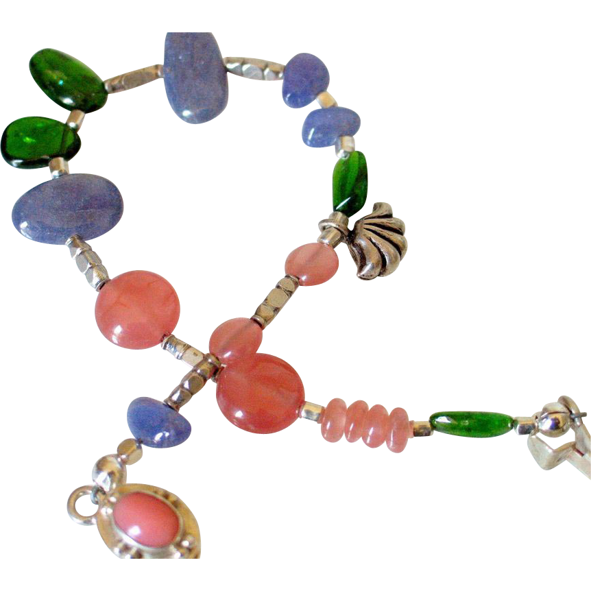 Gemstone Layering Bracelet by Pilula Jula 'Brave Dancing'