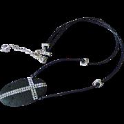 Modern Cross Leather Necklace by Pilula Jula 'Tender Mercies'