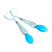 Turquoise Earrings by Pilula Jula 'Dancing in the Moonlight'