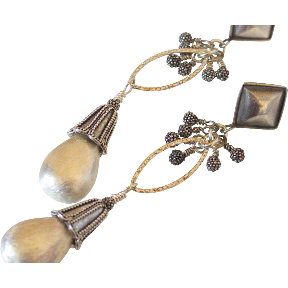 Sterling Silver Essential Earrings by Pilula Jula 'Frequent Flyer'