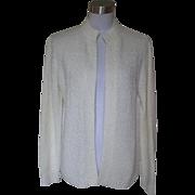 1970s Vintage Ivory Sweater - LeRoy Knit Wear