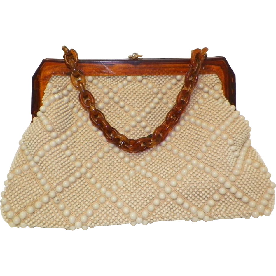 vintage beaded purse laregale ltd sold on ruby