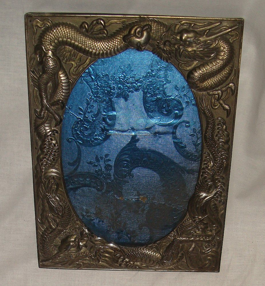 Vintage Large Dragon Picture Frame Japan Sold On Ruby Lane