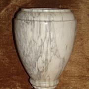 Vintage Italian Alabaster Urn - Vase