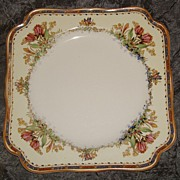 "Crown Ducal "" Tulips "" Pattern: Salad Plate"