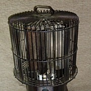 "Rare "" Breeze King "" Cage Fan - Enamel Finish"