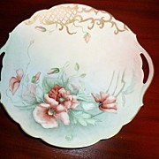 Antique Limoges France - Signed Cake Plate