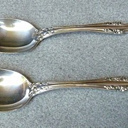 "Gorham Sterling "" Melrose "" Pattern - Tablespoon/Serving Spoon"