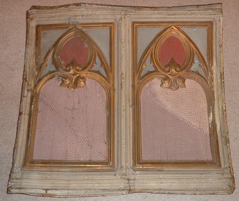 Antique Architectural Ceiling Tile