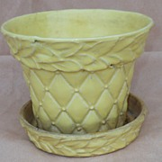 Large McCoy Planter - Yellow
