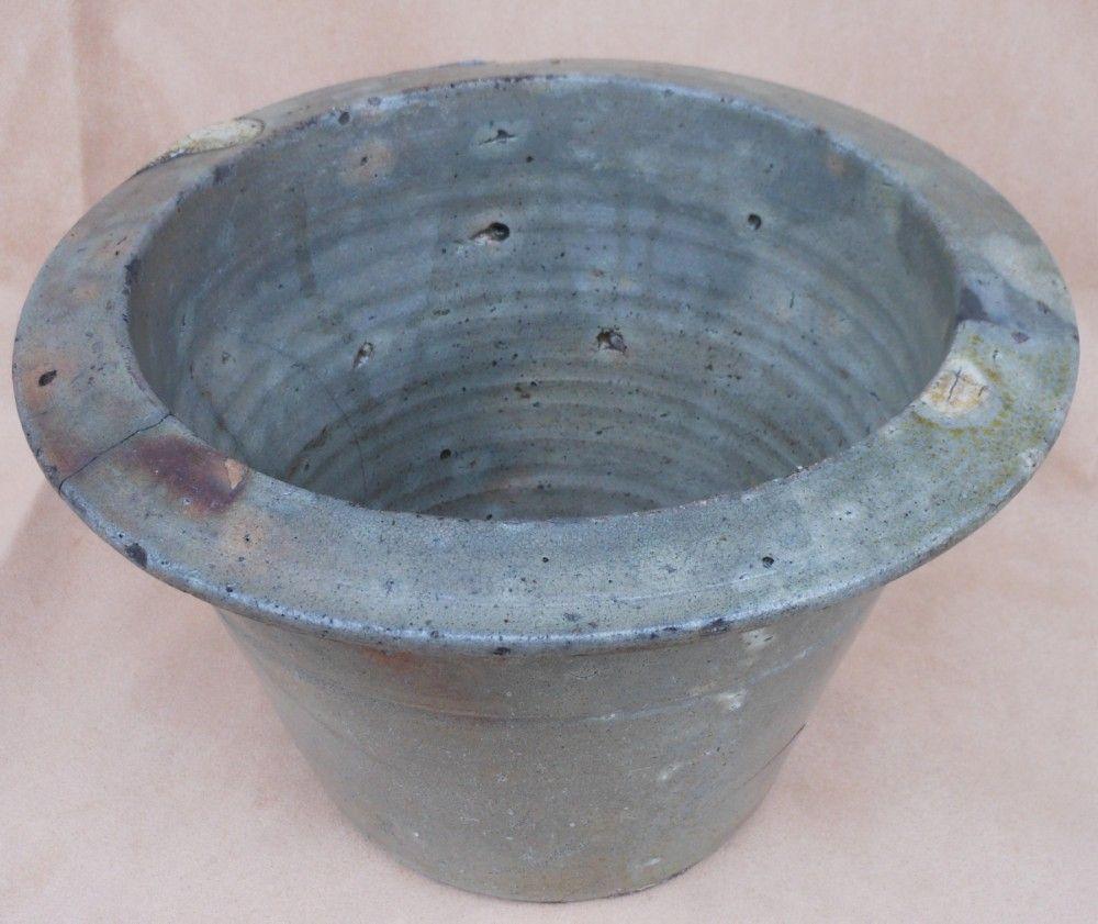 Vintage Pottery Milk Crock North Carolina