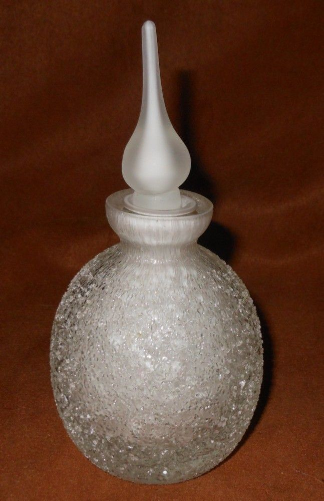 Fifth Avenue Crystal Limited Art Glass Perfume Bottle