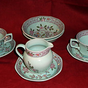 Adams Calyx Ware - Singapore Bird - 8 Assorted Pieces