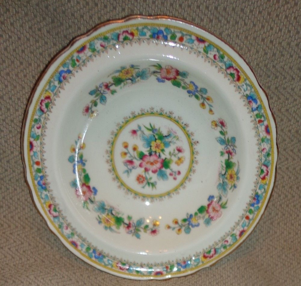 Foley China Ming Rose Pattern - Bread & Butter Plate