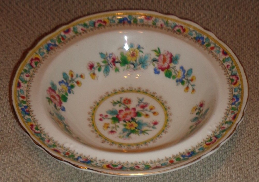 Foley China Ming Rose Pattern - Fruit/Dessert Bowl