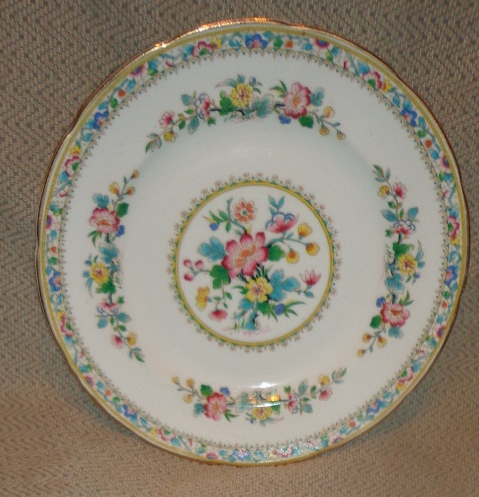 Foley China Ming Rose Pattern - Salad Plate