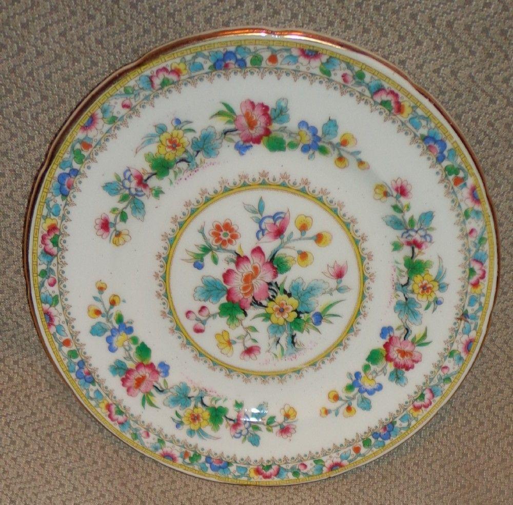 Foley China Ming Rose Pattern - Saucer