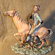 Don Quixote Large Capodimonte Figurine