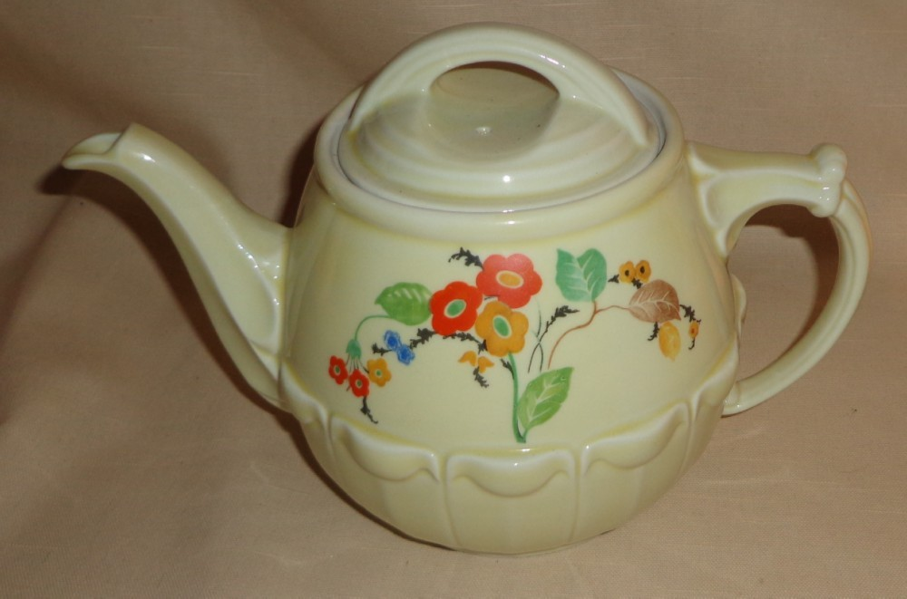 "Hall China Company "" Drip - O - Lator "" Coffee Pot - 1950's"