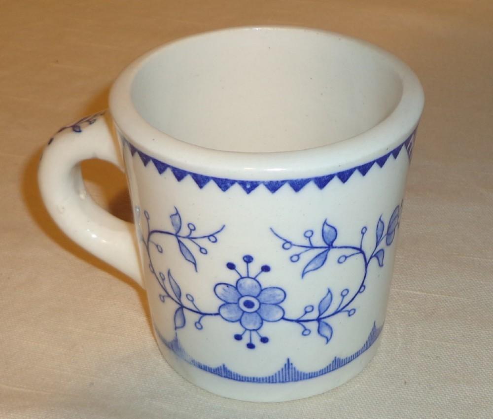 Furnivals Denmark Blue Flute Restaurant Style Mug