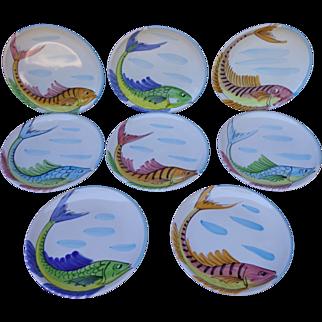 Vietri - Vista Del Mare - Salad Plate