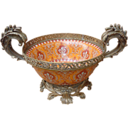 Ormolu Mounted Porcelain Bowl  by M ark  Roberts