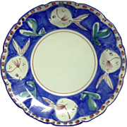 Vietri - Pesce - Blue and White - Pasta Bowls - 9 1/2""
