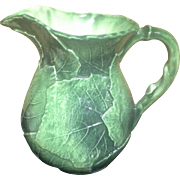 Vietri - Foglia Fresca - Large Leaf Pitcher