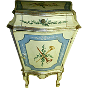 Italian Florentine Gilt Hand Painted Cabinet/Chest/Commode