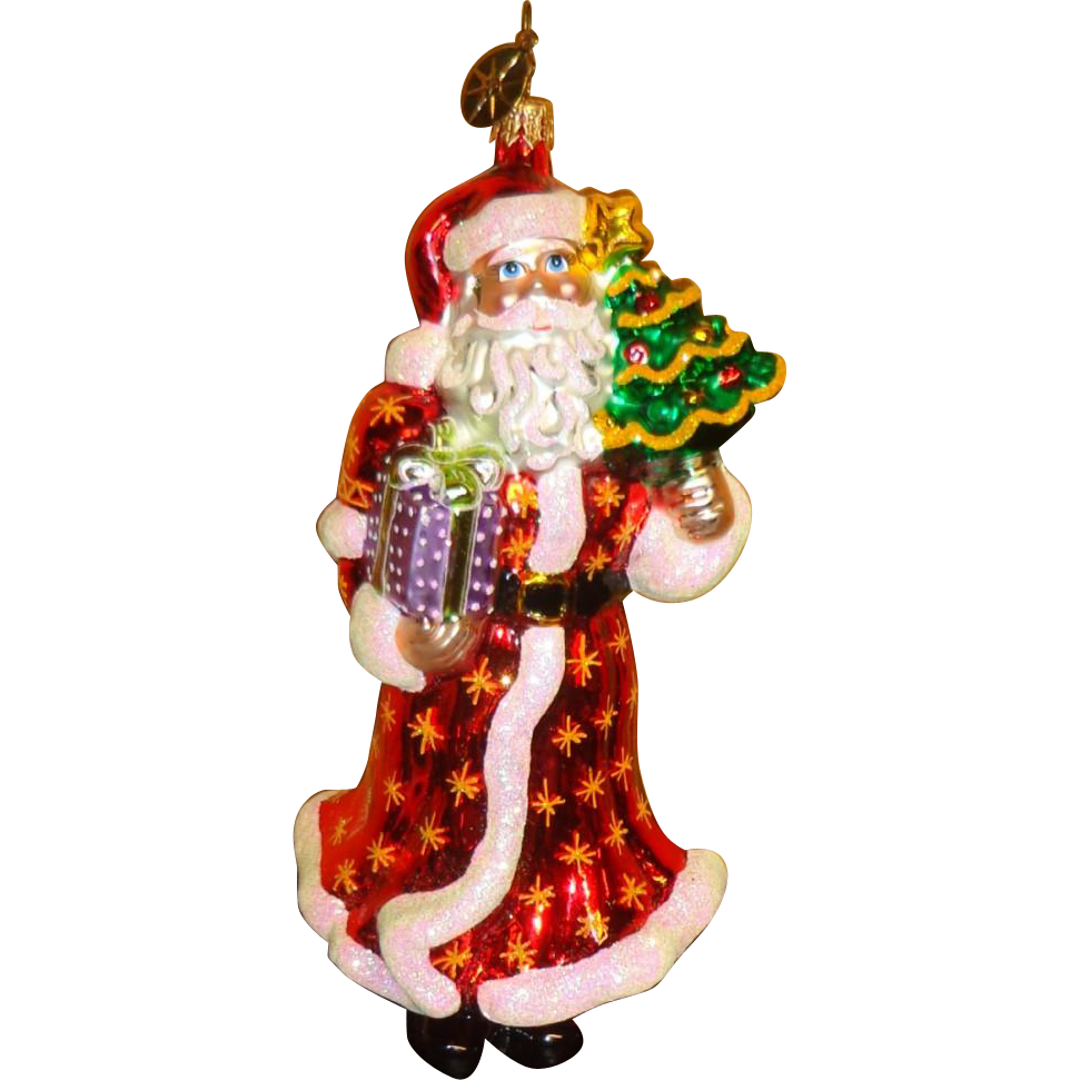 2006 Radko Santa Christmas Ornament