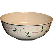 "Christopher Stuart - Holiday Splendor - 8"" Vegetable Bowl"