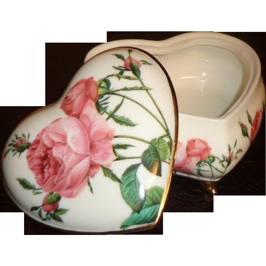Goebel  -Smithsonian Collection - Heart Box