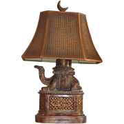 Fine Art Lamps - Camel Lamp - Original Shade