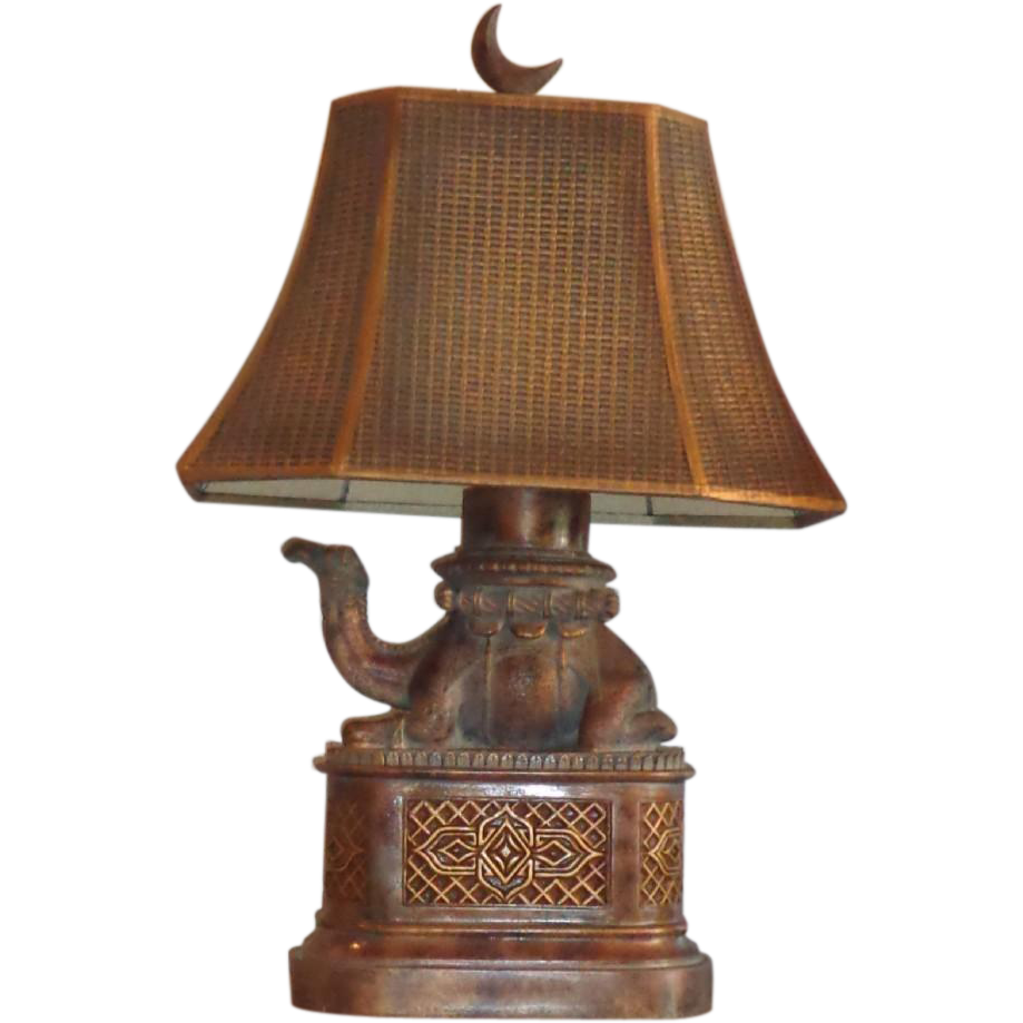 Fine Art Lamps - Camel Lamp - Original Shade