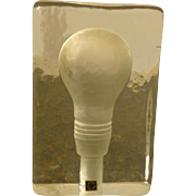 Stockholm Light Bulb Paper Weight - Original Label