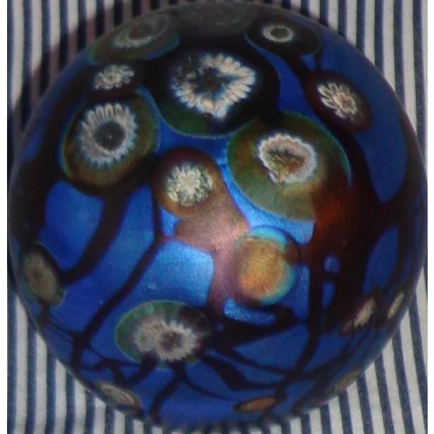 Carl Radke - Phoenix Studios - Art Glass Paperweight